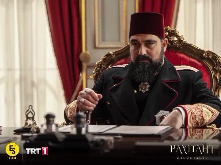 """""""Bizim tek arzumuz devletimizin, milletimizin refahıdır!"""" #PayitahtAbdülhamid heyecan dolu yeni bölümüyle bu akşam TRT 1'de!"""