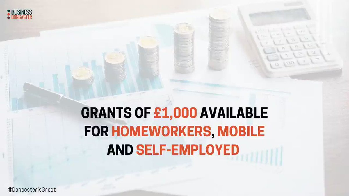 A NEW Discretionary Grant scheme has been launched TODAY to support Doncaster home working, mobile and self-employed businesses that have suffered loss of trade because of COVID-19.  (1/2) @DNChamber @MyDoncaster #doncasterisgreat