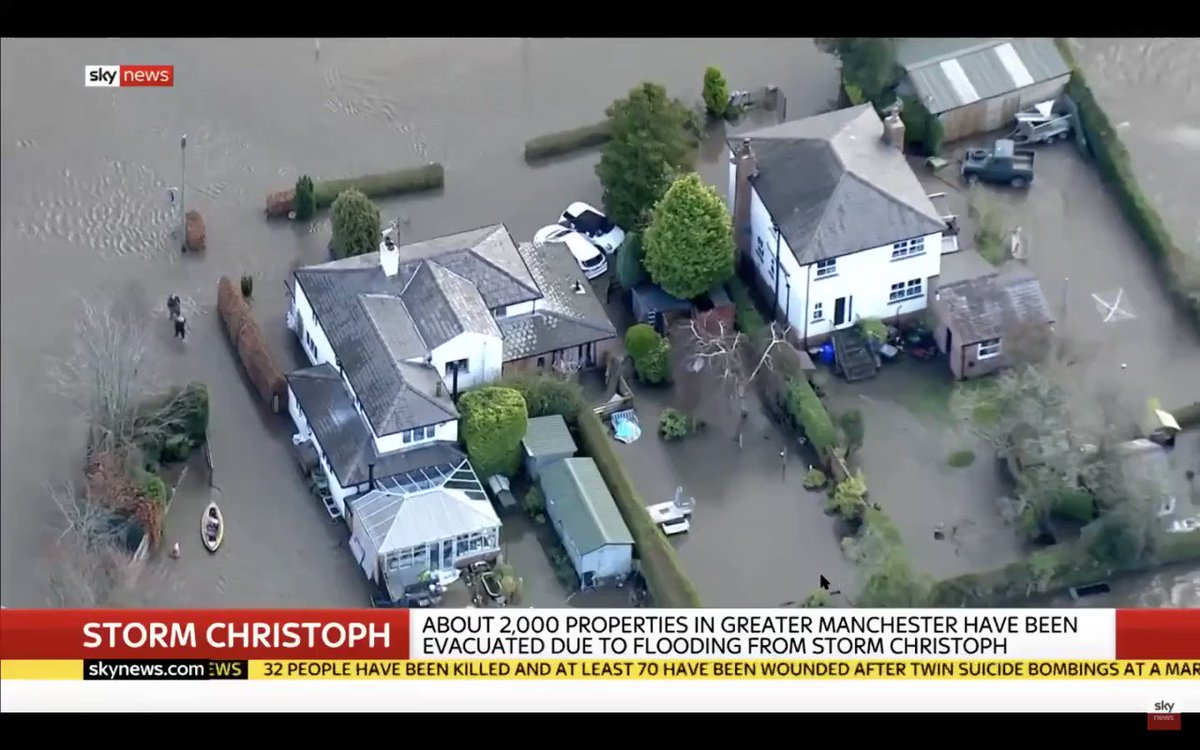 I spoke to Sky news this week about the need for Government to get pro-active when we face flooding events. We dont need visits afterwards, we need resources beforehand. COBRA meetings should be called early and responses coordinated with support unlocked.