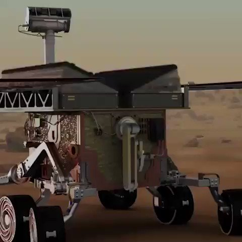 Image for the Tweet beginning: NASACohete #drone to explore #Mars! #AI