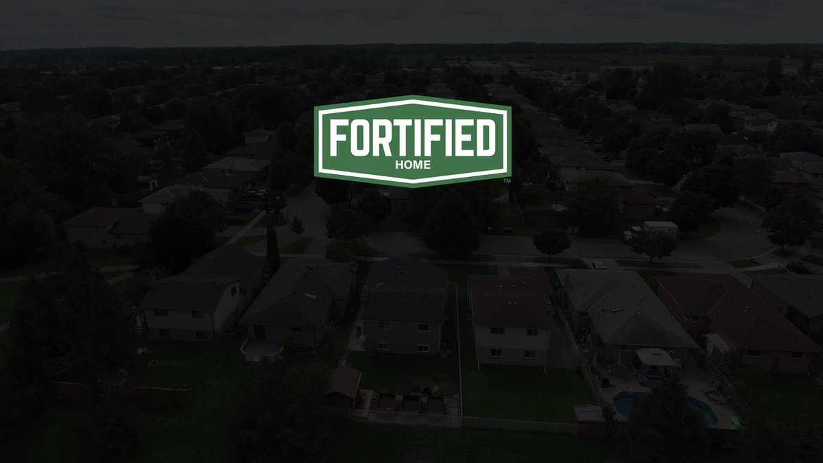 Why build to @FORTIFIEDHOME construction standards? Don't take it from us, listen to this homeowner whose house withstood #HurricaneMichael's Category 5 winds.   #MitigationMatters #FridayThoughts #BuildFORTIFIED