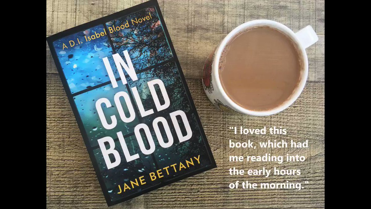 Why not make yourself a delicious cup of coffee and settle down to read In Cold Blood? The eBook is available to download for just 99p for a limited time. #InColdBlood #Coffee #CrimeFiction