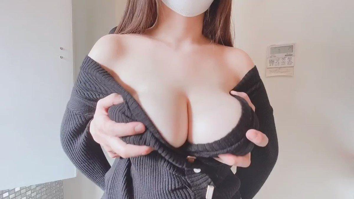 リナぽ。Jカップ爆乳裏垢女子のエロ動画