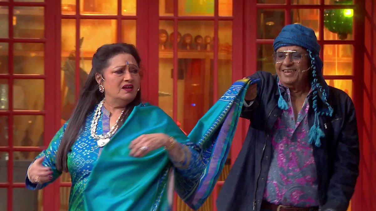 Watch out for Bharti's hilarious jokes with the villains from the 80's this weekend on #TheKapilSharmaShow at 9:30 PM ET/PT on #SonyTV   #SonyTVUSA @KapilSharmaK9 @apshaha @Krushna_KAS @kikusharda @haanjichandan @sumona24 #Ranjeet #Bindu @GulshanGroverGG
