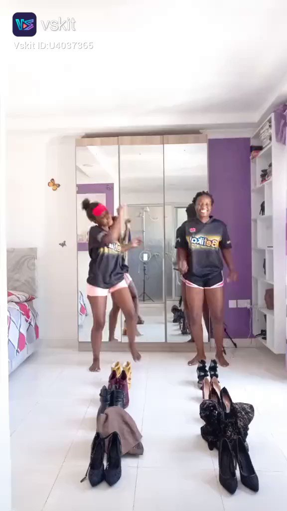 They killed the outfit transition challenge. Which is your favorite outfit?  Comment below! 👇  Download #Vskit for more exciting videos and more fun.   #vskitofficial #Vskit #shortvideosmorefun #vskitnigeria  #HusbandsOfTacha #Ashanti #Wizkid #fridaymorning #EricaxTV3NewDay