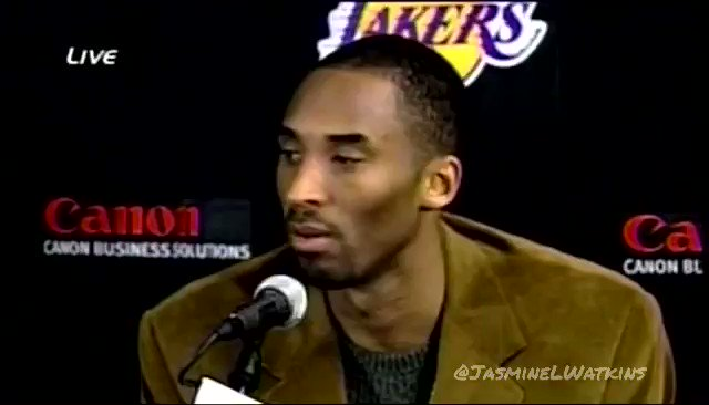 One thing I'll always remember about Kobe's 81 is how the postgame press conference ended, which was so fitting.