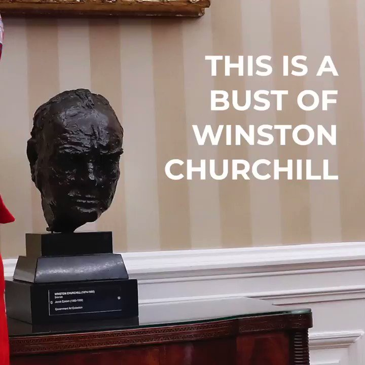 We've seen some discussion about the Churchill Bust, so we just wanted to remind everyone what the Special Relationship is truly about 🇺🇸🇬🇧