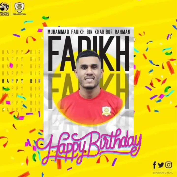 Selamat Hari Lahir @muhammad_farikh 🎊🎉🎂  Happy Birthday Farikh 🎂🎉🎂  #perakfutsal #happybirthday #mpfl2021