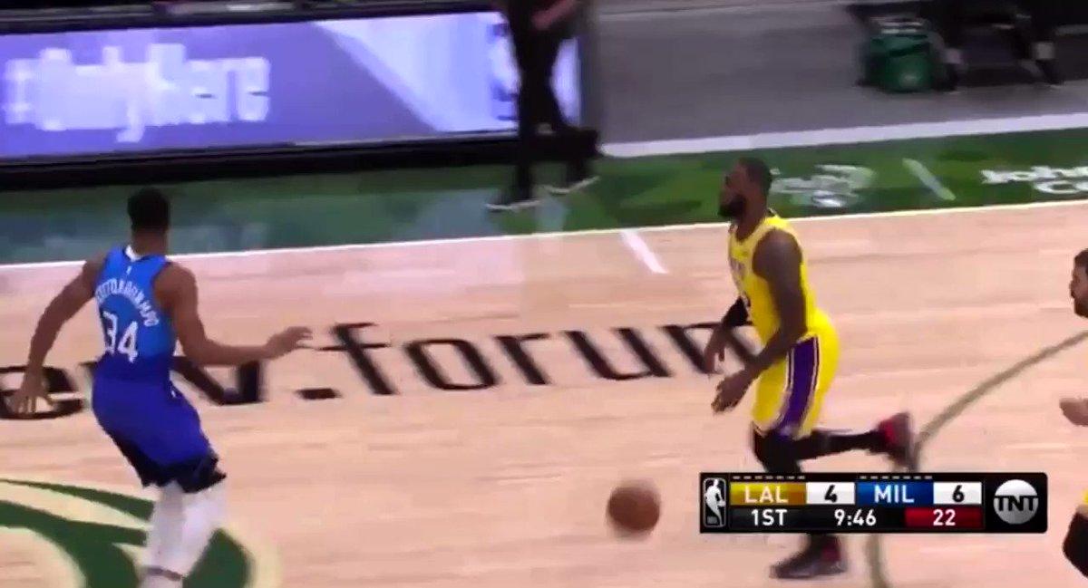 Lakers/Bucks Highlights #LALvsMIL