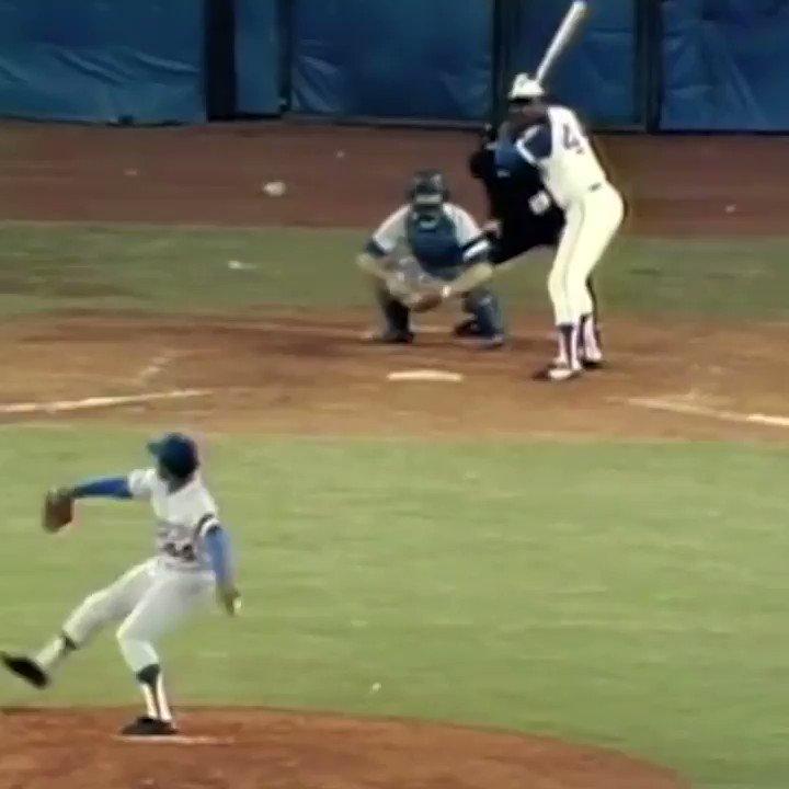 A true baseball legend. The best home run hitter for three decades. RIP Hank Aaron →