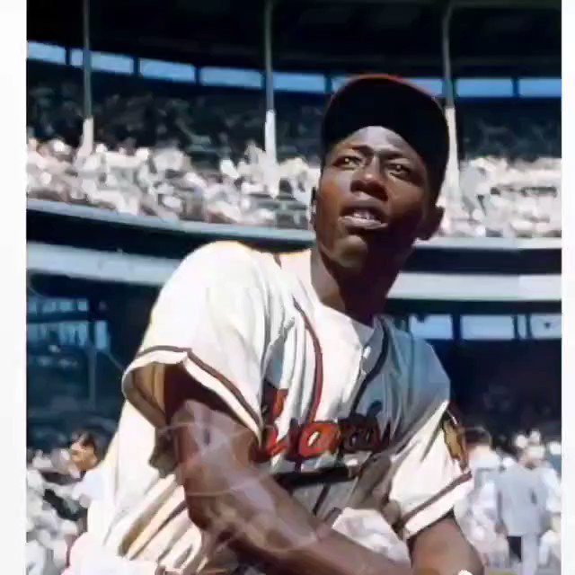 RIP our hometown HENRY HANK AARON🙏  #mobelusa #hankaaron #homerunkimg #baseball #braves
