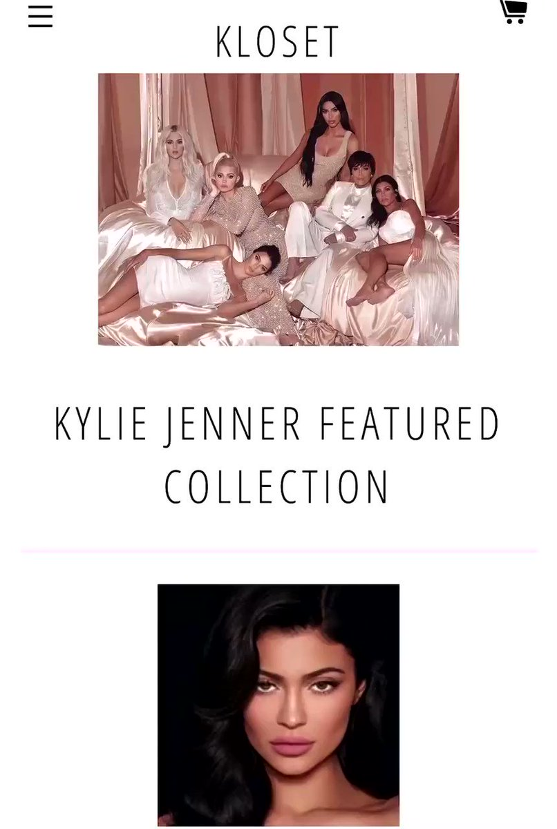 👉  👈 RT @KylieJenner just added new items to my online closet at #KardashianKloset!! Shop pieces directly from my closet 🥰