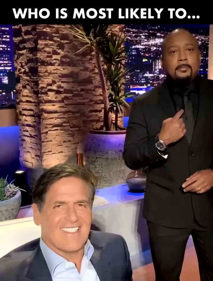 Neither one of us is right 😂 @mcuban   All new #SharkTank tonight 8pm est.
