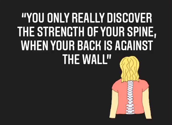 Our Spinal Therapists were inspired by this quote!!!!🤩🤩  #fridayfeeling #health #backcare #lockdown