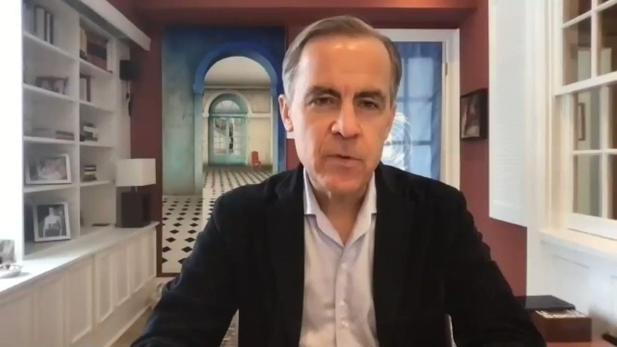 """""""Companies that are part of the solution will be rewarded. Those who are lagging behind will be punished.""""   In an interview, @UN Special Envoy Mark Carney explains why the net zero goal is the greatest commercial opportunity of our time.    #ClimateAction"""