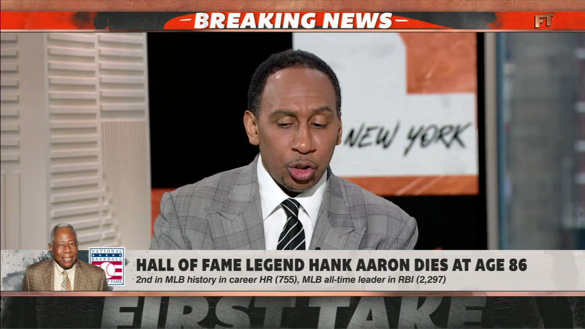 Without Hank Aaron there wouldn't be people like me.