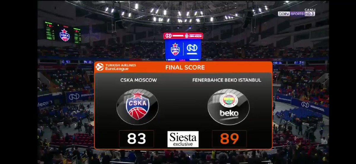 💛💙 Tebrikler @FBBasketbol  Congratulations 💥💥💥👏👏👏 6'da 6🎉🎊🎉🎊🏀⚡⚡⚡🔥🔥🌀🎯👑📢📢📢🧿🧿🧿🧿🧿🧿🧿💣💣 #FenerbahceBeko #vesely #decolo #cska  #sports #euroleaguefantasy #EuroLeague #turkishairlines #Fenerbahce