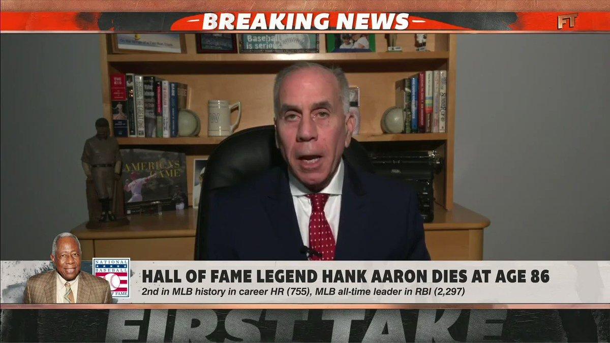 The great Hank Aaron. https://t.co/Vvwd5rqZ6m