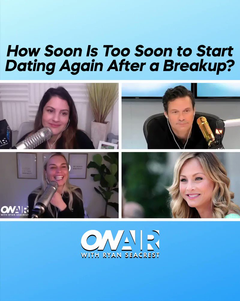 How soon is too soon to start dating again after a breakup? 💔  Watch back the on-air moment here: