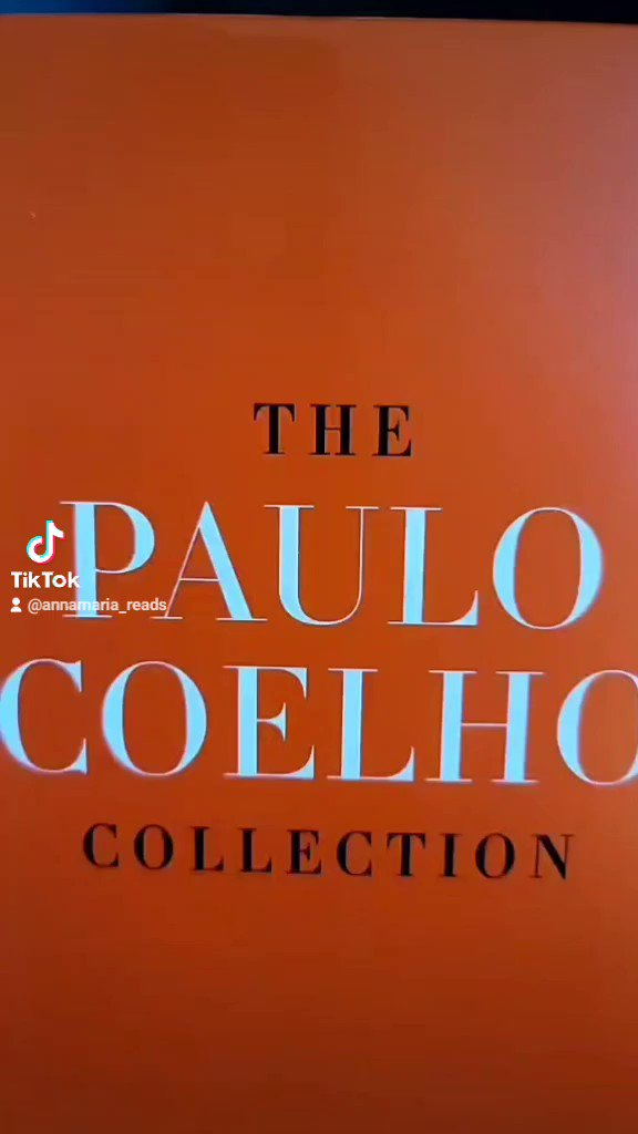 My @paulocoelho book collection 🥰 #paulocoelho #bookcollection