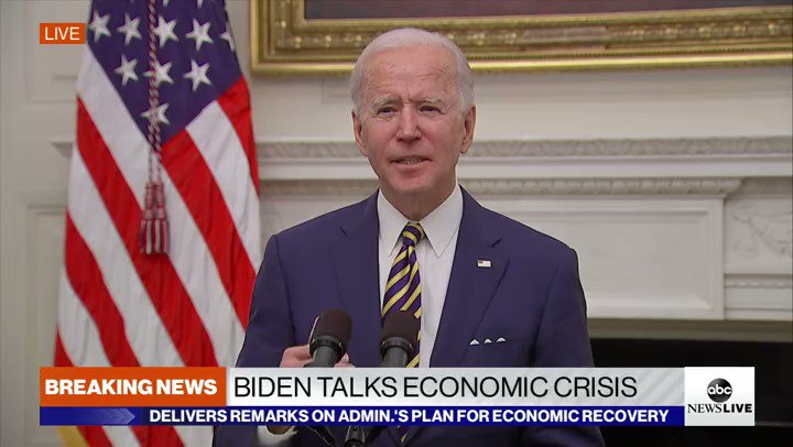 ".@JoeBiden: ""There is nothing we can do to change the trajectory of the pandemic in the next several months."""