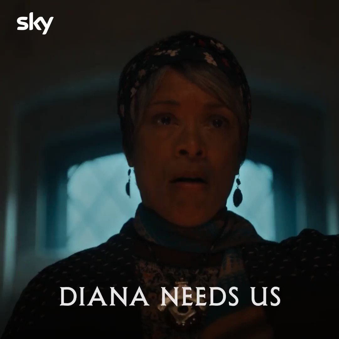When I'm getting a snack at 3am and I hear a ghost knock something over:  #ADiscoveryOfWitches