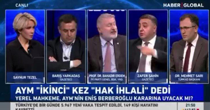 """İYİ Parti Genel Başkan Yardımcısı Bahadır Erdem'den Selahattin Demirtaş çıkışı:  """"Ben bir hukukçu olarak diyorum ki Selahattin Demirtaş serbest bırakılmalı."""""""