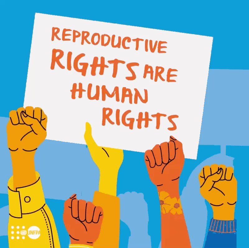 Reproductive rights are human rights.  @UNFPA works to promote universal access to sexual & reproductive health & rights, including family planning.  #StandUp4HumanRights