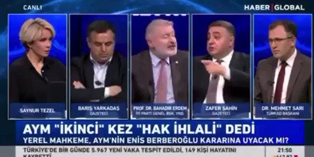 """Millet İttifakı değil Demirtaş İttifakı...  İyi Parti Genel Başkan Yardımcısı Bahadır Erdem, """"Selahattin Demirtaş serbest bırakılmalı."""" dedi."""