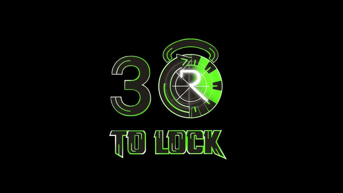 10 minutes. #30ToLock   🎥: