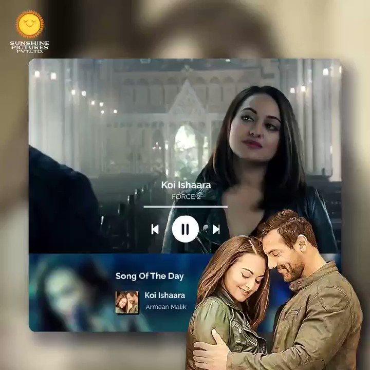 Apne crush ko tag karke, 'Koi ishaara toh karo'. 💕  #VipulAmrutlalShah @ShefaliShah_ @Aashin_A_Shah  #SunshinePictures #KoiIshaara #SongOfTheDay #RomanticSong #Force2 #Bollywood #Action #Movie #JohnAbraham #SonakshiSinha  @TheJohnAbraham  @ArmaanMalik22 @AmaalMallik #RashmiVirag