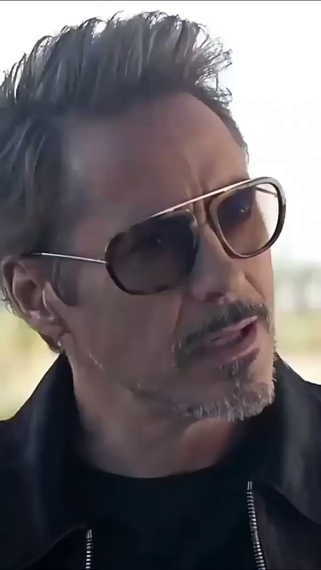 @RobertDowneyJr   That Look 😍😍😍  The Actual and Only reason for me to love Avengers...  Iron Man, The greatest actor, for a reason...  #IronMan #TONYSTARK #RobertDowneyJR #Avengers #Marvel #MarvelsAvengers @Marvel @MarvelStudios @Avengers