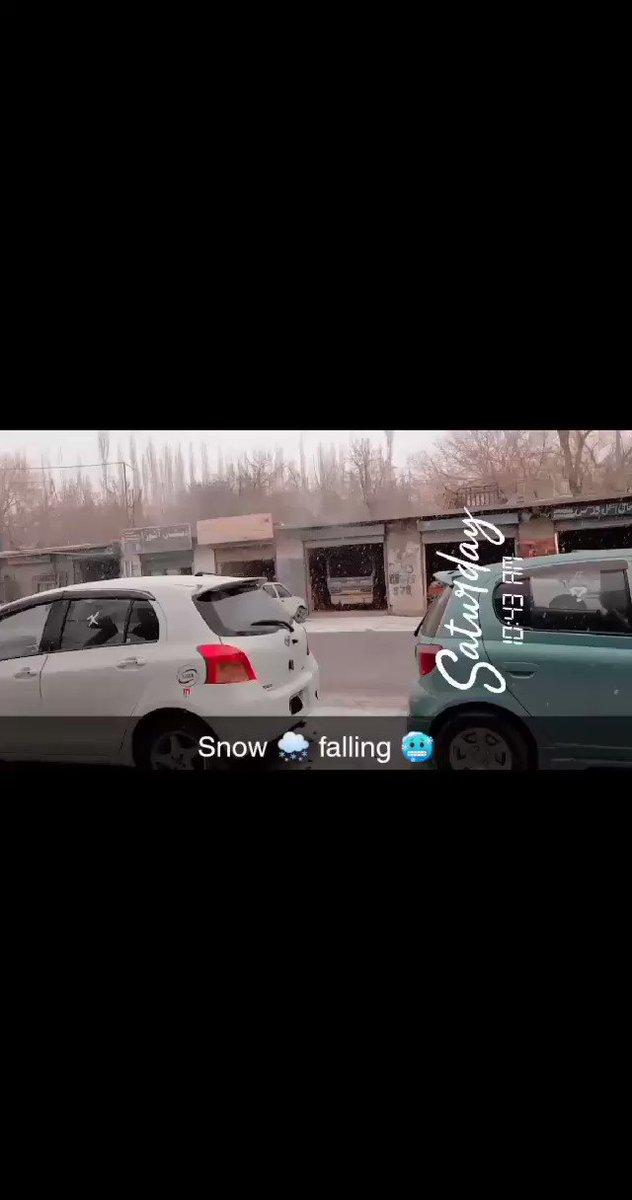 #skardu #today  #snowfall https://t.co/bPoRjh15us