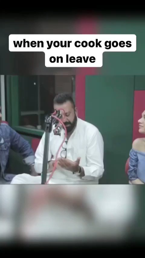 when your cook goes on leave 🤣. feat @duttsanjay   #Sidk #SiddharthKannan #memes #funnymemes #funnyvideos #videos #comedy  #sanjaydutt
