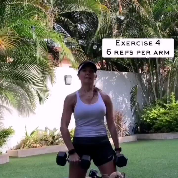 Upper Work Out 12×3 with rest 30 second between groups and I minute between exercises تمرينه Upper تتنفذ 12×3 مع راحه 30ث بين المجموعات و دقيقه بين التمارين #fitness #gym #workout #fitnessmotivation #motivation #bodybuilding  #crossfit #personaltrainer #exercise #muscle #bhfyp https://t.co/KEGVpCh5Ez