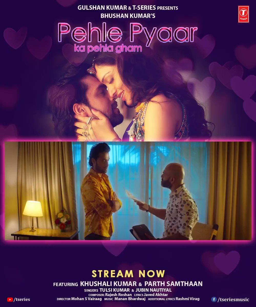 A soundtrack which has touched many hearts and is being heard on repeat. #PehlePyaarKaPehlaGham is now trending on @JioSaavn. Tune in now:  @TulsiKumarTK @JubinNautiyal #MohanSVairaag #RashmiVirag @tuneintomanan @Javedakhtarjadu #RajeshRoshan
