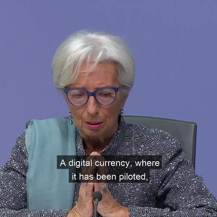 A digital euro, if it were to be introduced, would be of service to all citizens. But we are not there yet – more work is needed to address the issues it raises.  Learn more about a digital euro