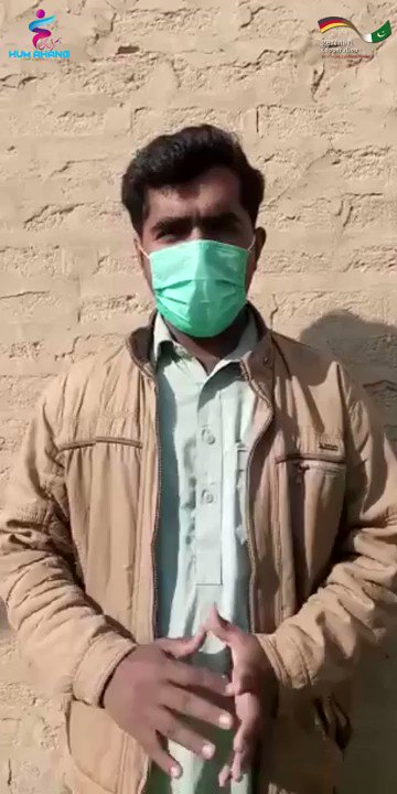 I am extremely grateful to #HumAhang Pakistan and the German Cooperation for supporting me and my family and helping us out during this time of a global #pandemic and providing us with the #essentials like #masks, ration, and #sanitizers to keep us #safe from the #coronavirus.