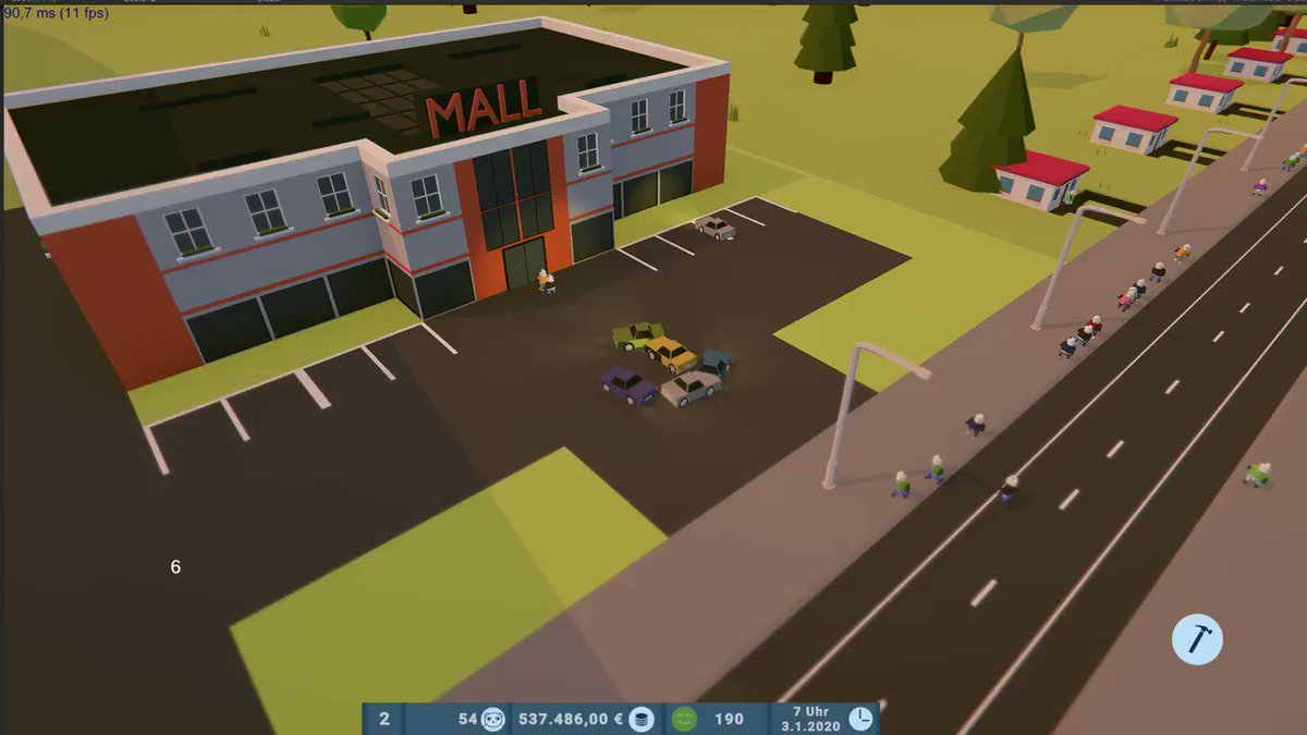 Well no, there are no bugs in my game and i'm making a lot of process...!  #lowpoly #indiedev #games #gamedev #gaming #citybuilder #picoftheday #indiegame #polygon #game #videogames #3d #gameart #design #gamedevelopment  #indie  #blender #indiegamedev #screenshotsaturday @unity