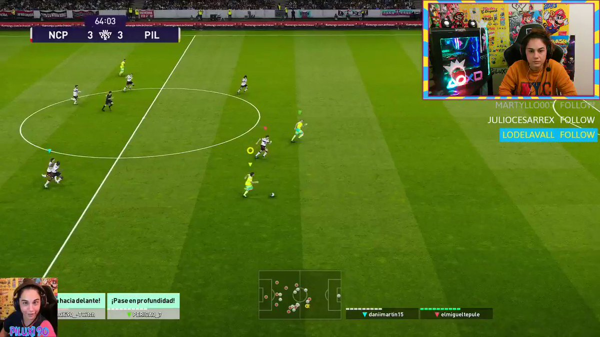 Uy el Messi... 😬 @Pericao7 @officialpes #PES2021 #eFootballPES2021 #twitch