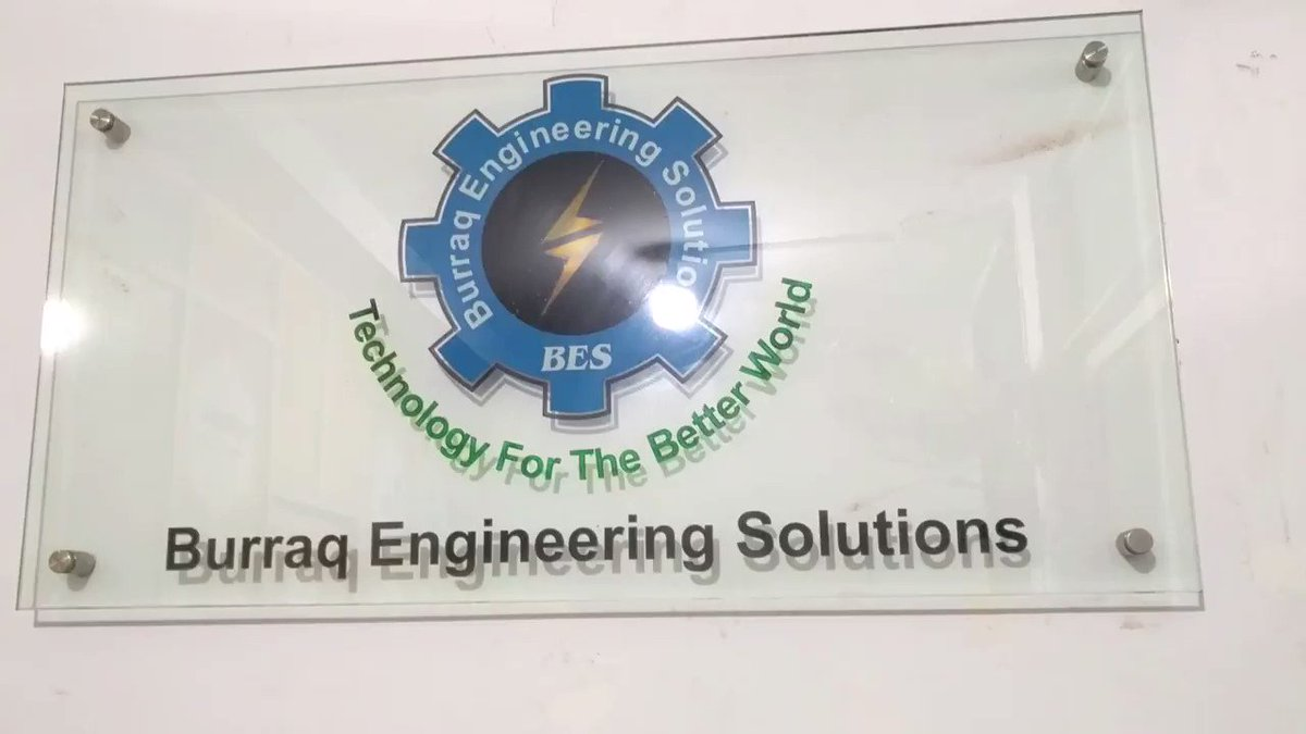 Image for the Tweet beginning: Burraq Engineering Solutions Provide 4