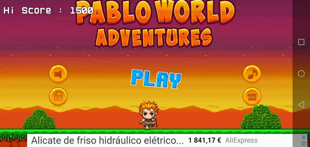 @pabloalboran Your #game 😜😜😜😂😂😂 #PabloWorldGame