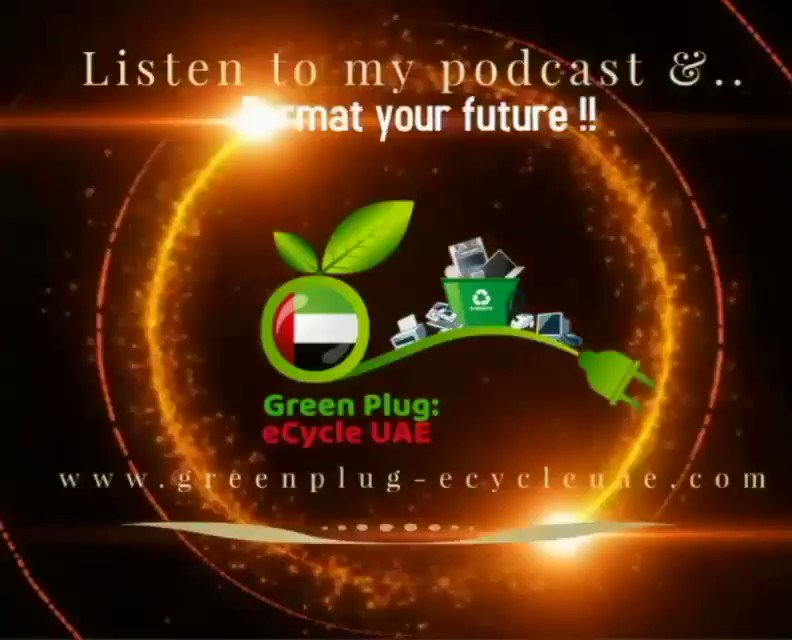 An Interview With The World's Largest E-Waste Recycling Expert_Episode6 An Interview With the World's Largest E-Waste Recycling Expert Mr.Dustin Cherniawski from Enviroserv , Dubai-UAE  To Hear Full Audio Follow Us On SoundCloud Podcast Link 👇   #podcast