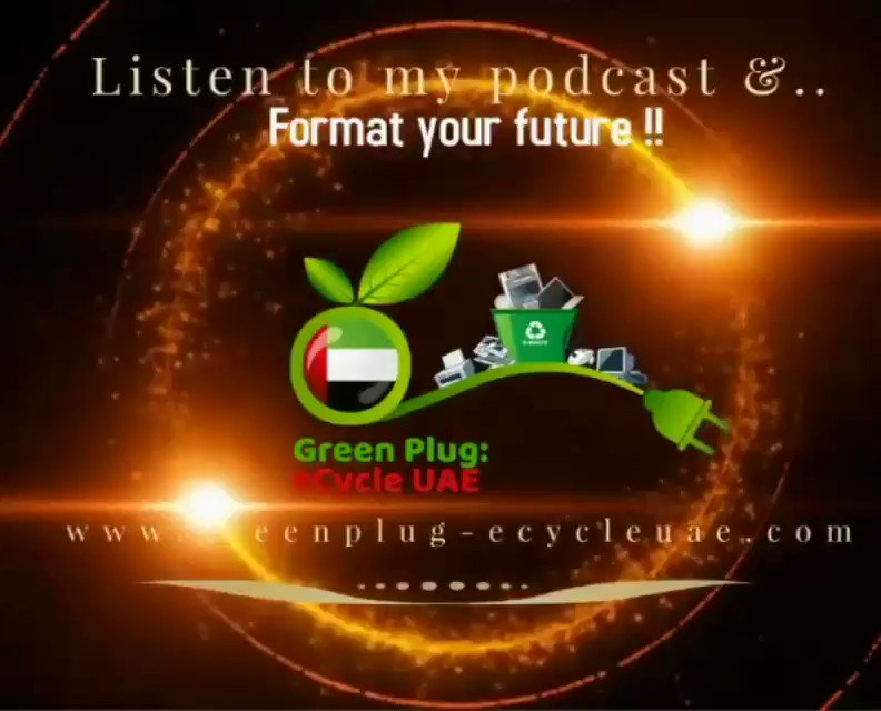 A Lively Talk Show On Sustainable UAE Be A Minimalist_Episode7 A Lively Talk Show On Sustainable UAE Be A Minimalist with Ms.Lizelle Maistry   To Hear Full Audio Follow Us On SoundCloud Podcast Link 👇  #ewaste  #podcast  #sustainability  @greenplug_uae