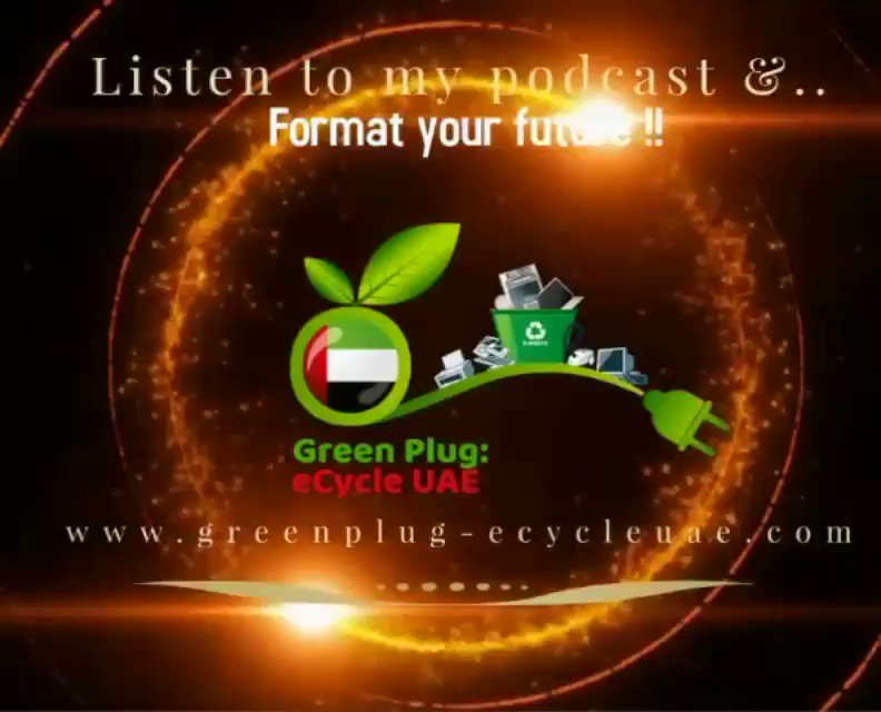 Journey Of GreenPlug ECycle UAE Campaign To Break The E - Waste Circuit_Episode8  To Hear Full Audio Follow Us On SoundCloud Podcast Link 👇  #podcast  #ewaste  #sustainability  #MotivationalQuotes