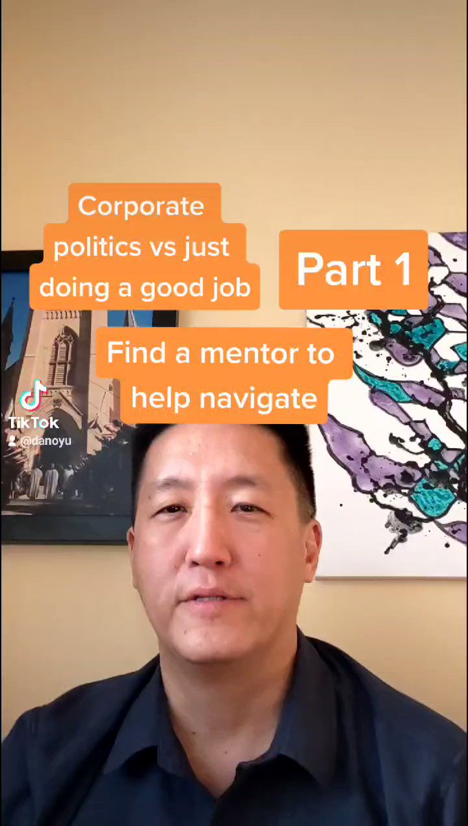 1-Minute Career Hack! Find a mentor who can help you navigate the corporate politics #jobsearch #workfromhome #careeradvice #wfh #careerpivot #career #leadership #mentoring