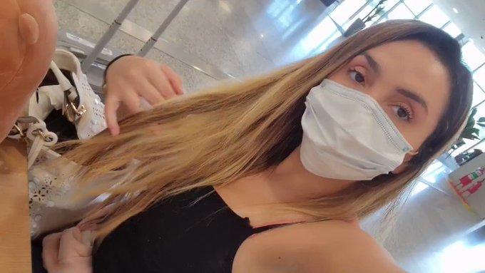 Ursinho no aeroporto..... vamos dar um paseio rapido por sp🤗  https://t.co/WUbdYNqSDv https://t.co/h