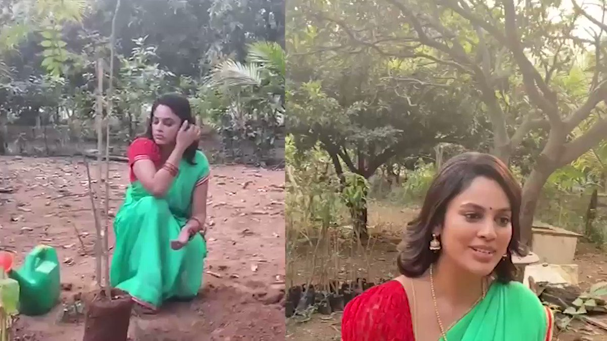 Thank you #NanditaSwetha garu for your kind words and for accepting the nomination & planting the saplings under #GreenIndiaChallenge. Also for nominating your co-stars.  #GIC🌱🌱🌱