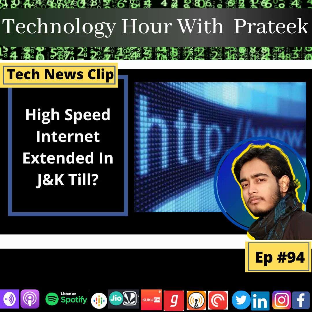 Again Extended!!!  #TechNews #Trending #technology #podcast