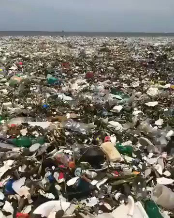 We're building a disposable world. We now have waves of waste. This needs to stop.   Demand governments and companies stand-up and #EndSingleUse:   #WasteLess #UseLess #Buyless